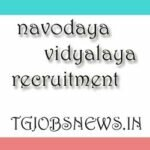 jawahar navodaya vidyalaya vacancy for teachers