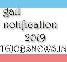gail notification 2019
