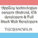 AppZoy technologies careers Android, iOS developers & Full Stack Web Developers