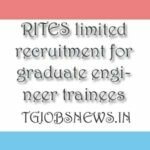 rites ltd careers