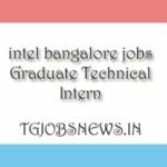 intel bangalore jobs Graduate Technical Intern