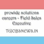 prowide solutions careers - Field Sales Executive