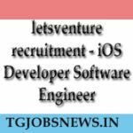 letsventure recruitment - iOS Developer Software Engineer